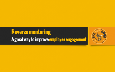 How reverse mentoring helps employee engagement
