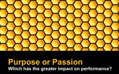 Purpose or passion?