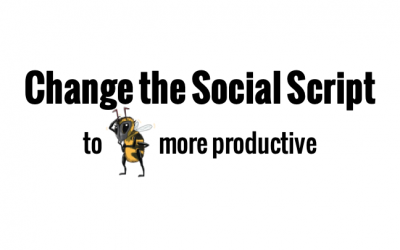 Change the social script in a positive way to improve employee engagement