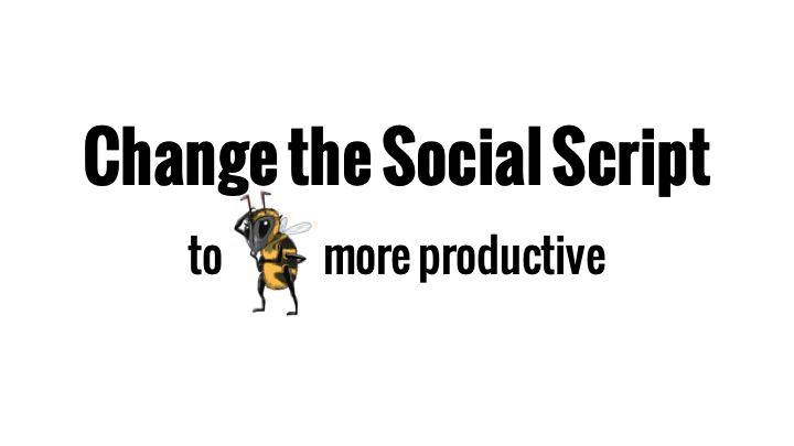 Change the social script