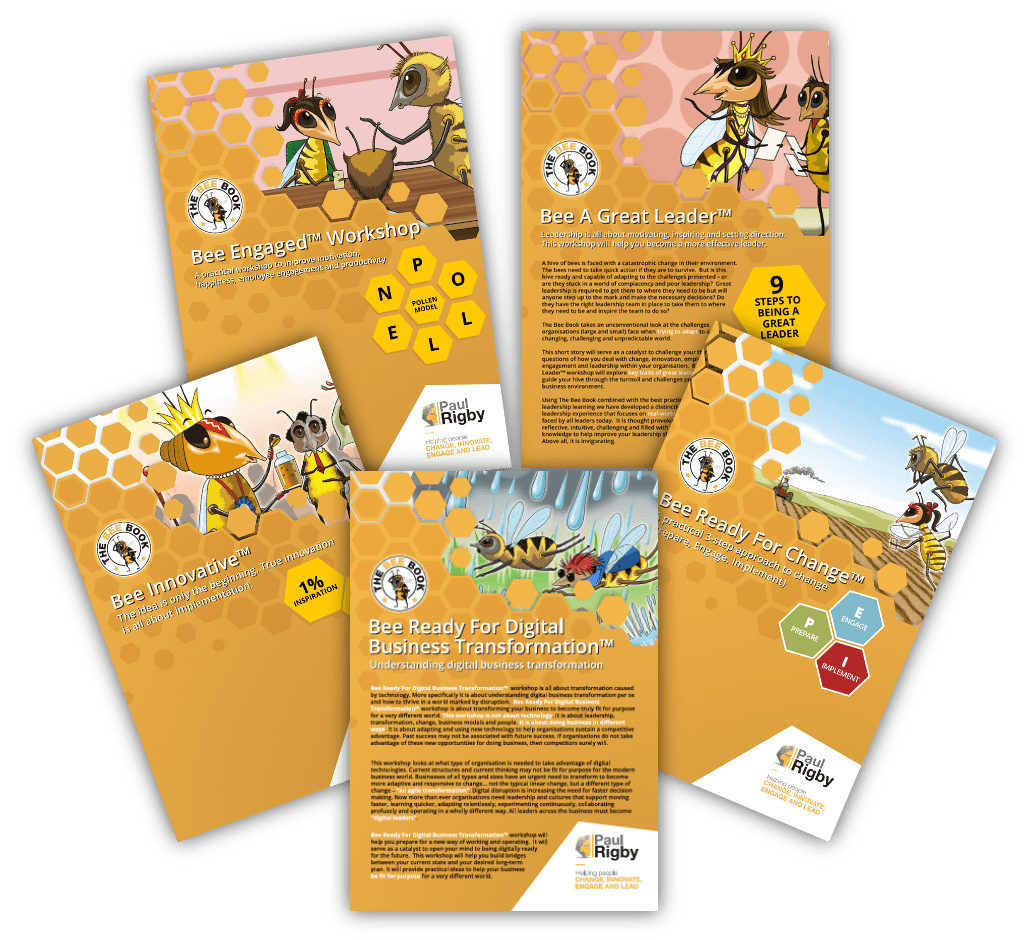 Bee workshop brochures
