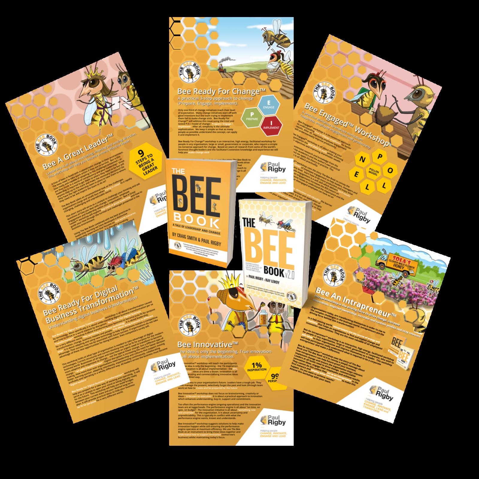 Bee workshop brochures